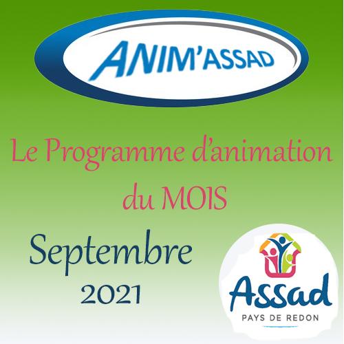 ANIM'ASSAD Septembre 2021