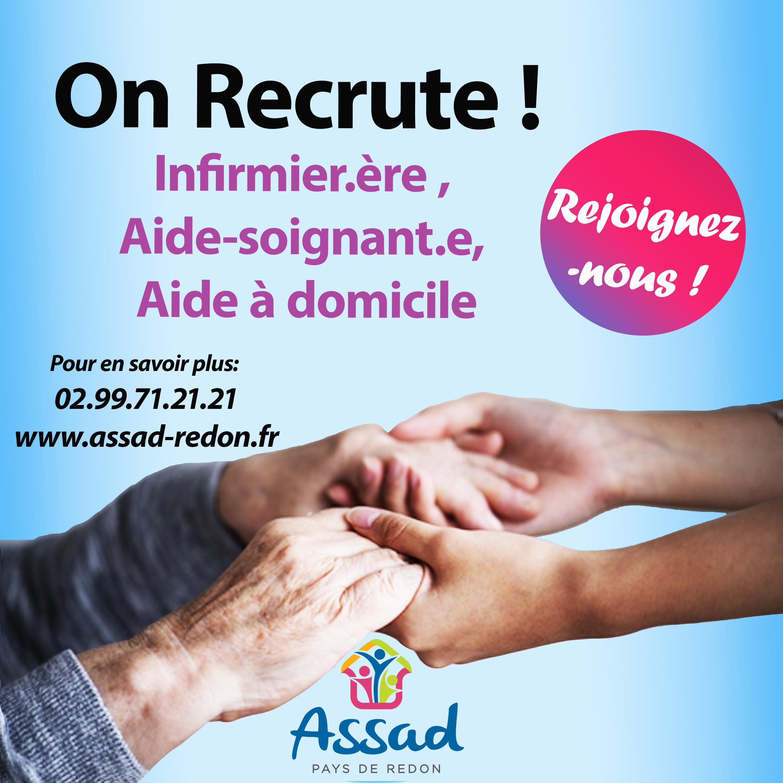 L'ASSAD Recrute !